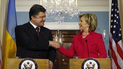 Порошенко неодноразово підтримував Клінтон - фото 1