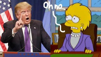 Сімпсони передбачили обрання Трампа президентом - фото 1