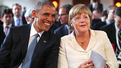 Обама і Меркель - фото 1