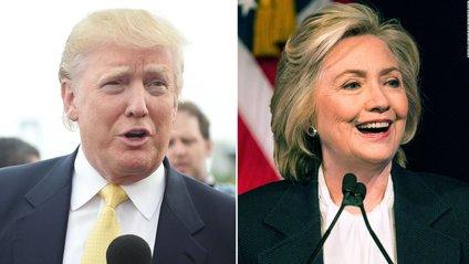 Дональд Трамп та Гілларі Клінтон - фото 1
