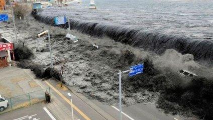 """Через землетрус і цунамі річка в Японії """"потекла назад"""" - фото 1"""
