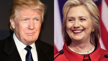 Клінтон і Трамп - фото 1