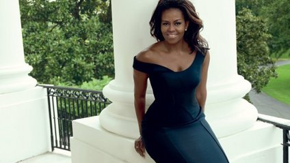 """Мішель Обама сфотографувалась для """"біблії моди"""" - фото 1"""