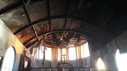 У Маріуполі спалили церкву - фото 1
