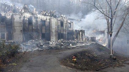 Наслідки пожежі в Теннесі - фото 1