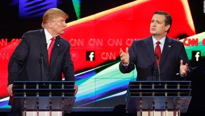 Трамп поруч з Тедом Крузом - фото 1