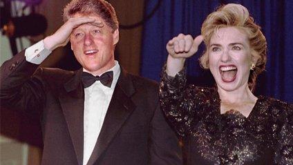Білл та Гілларі в 1993-му - фото 1