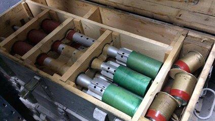 Бункер зі зброєю під Києвом - фото 1