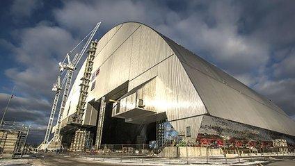 Саркофаг на Чорнобилі - фото 1
