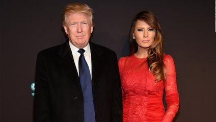 Меланія і Дональд Трамп - фото 1