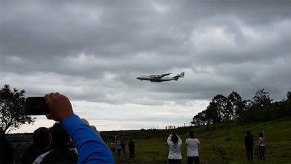 """""""Мрія"""" приземлилася у Бразилії - фото 1"""
