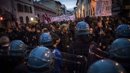 Протести в Італії - фото 1