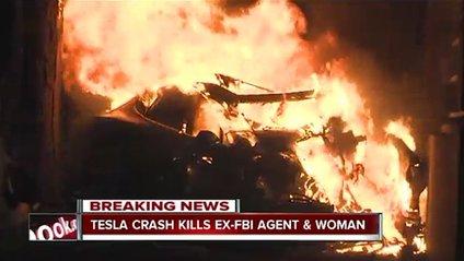 Внаслідок вибуху авто Tesla загинули двоє американців - фото 1