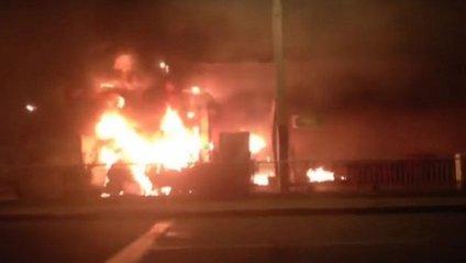 Пожежа охопила 600 кв.м - фото 1
