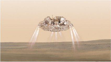 """""""Скіапареллі» розбився при посадці на Марс - фото 1"""