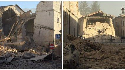 Землетрус в Італії - фото 1