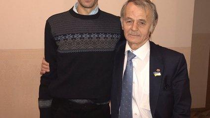 Джемілєва з сином в Україні - фото 1