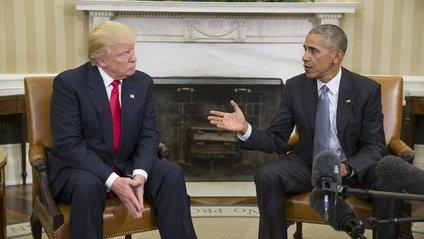 Обама зустрівся з Трампом у Білому Домі - фото 1