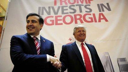 Саакашвілі і Трамп - фото 1