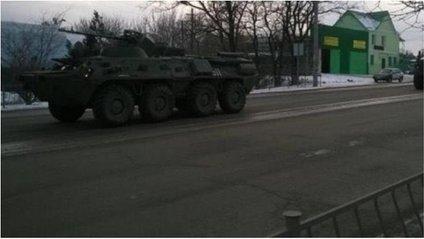 Військова техніка в Сімферополі - фото 1