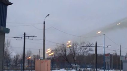 Обстріл Донбасу - фото 1