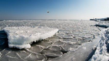 В Одесі замерзло море - фото 1