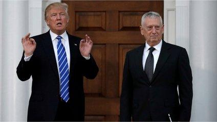 Трамп і Меттіс - фото 1