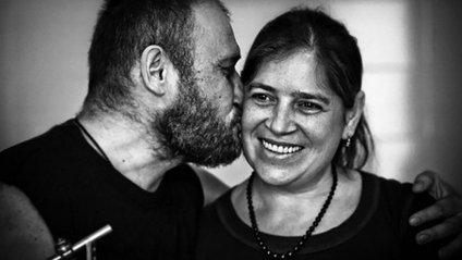 Дмитро Ярош з дружиною Ольгою - фото 1