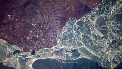 У мережі опублікували фото України з борту МКС - фото 1