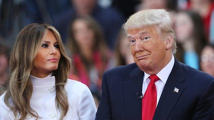 Меланія та Дональд Трампи - фото 1