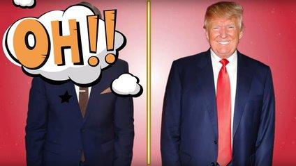 Трамп після і до - фото 1