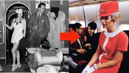 Історію уніформ стюардес показали за дві хвилини - фото 1