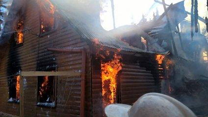 Пожежа на Драгобраті - фото 1