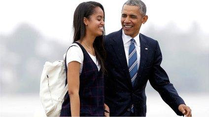 Обама з дочкою - фото 1