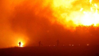 З'явились фото масштабних пожеж у Чилі - фото 1