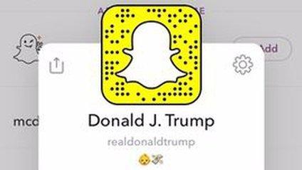 Акаунт Трампа у Snapchat - фото 1