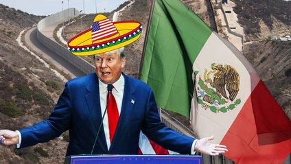 Трамп погодив будівництво стіни на кордоні з Мексикою - фото 1