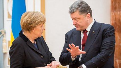 Порошенко та Меркель - фото 1