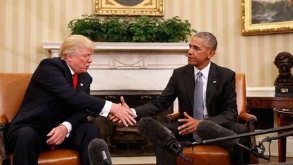 Трамп і Обама - фото 1