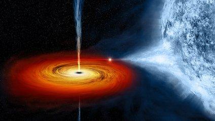 """У світі """"дикого"""" космосу"""": як чорна діра пожирає зірку - фото 1"""