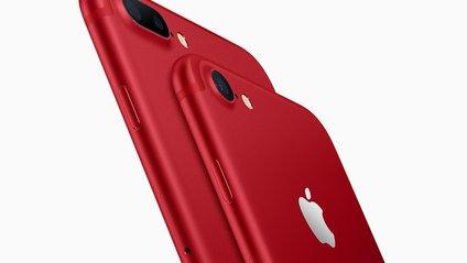 Apple представила червоний iPhone 7 - фото 1