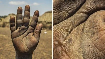 Рука трирічної дитини - фото 1