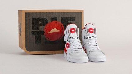 Для лінюхів: створені кросівки з кнопкою для замовлення піци - фото 1