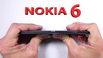 Новеньку легендарну Nokia 6 перевірили на міцність - фото 1
