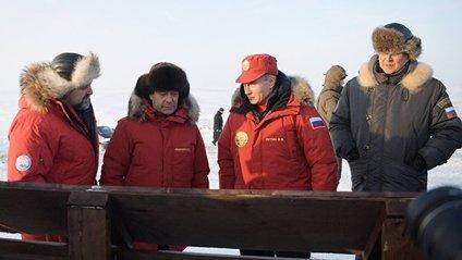 Візит Путіна і Медвєдєва в Арктику - фото 1