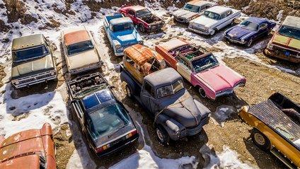 У Канаді продають два гектари старих автомобілів - фото 1