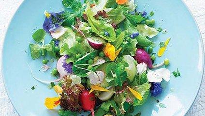 Салат з квітів - фото 1