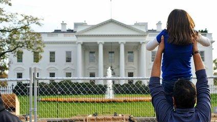 Незнайомець проникнув на територію Білого дому - фото 1