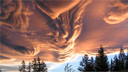 Хмари Undulatus asperatus - фото 1