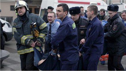 Теракт у метро Санкт-Петербурга - фото 1
